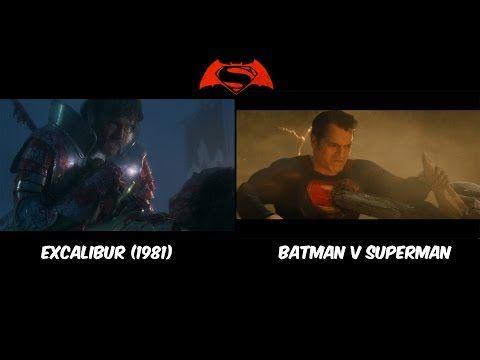 allusion symbolism batman v superman youtube superman