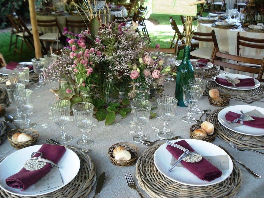 Boda en el campo rom ntica y vintage alquiler de - Bodas sencillas y romanticas ...