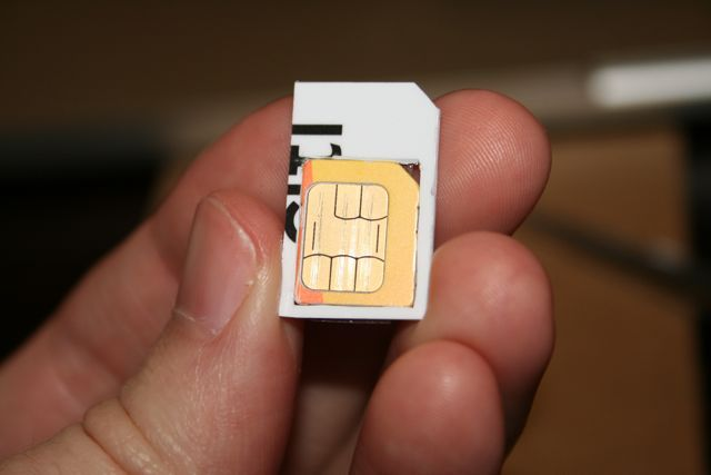 How To Make A Diy Micro Sim To Sim Adapter Sim Card Adapter Sims How To Make