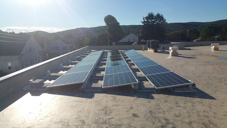 We Install Commercial Renewable Energy Systems For Businesses In Pittsburgh Our High Quality 100 American Made Commercial Solar Panels Solar Solar Companies