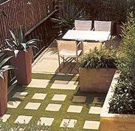 Pqueñas terrazas con plantas artificiales - Cerca amb Google