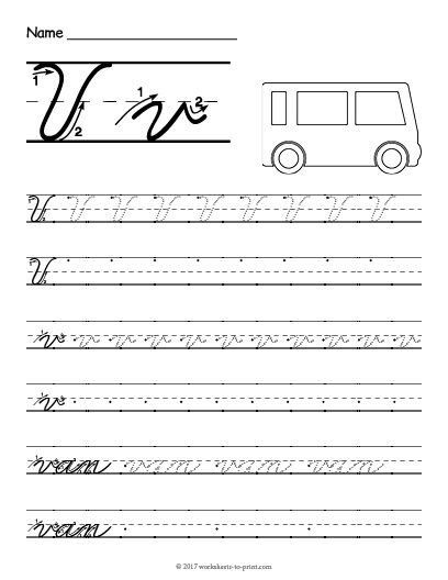 V In Cursive : cursive, Printable, Cursive, Worksheet, Writing, Practice, Sheets,, Practice,, Handwriting, Worksheets