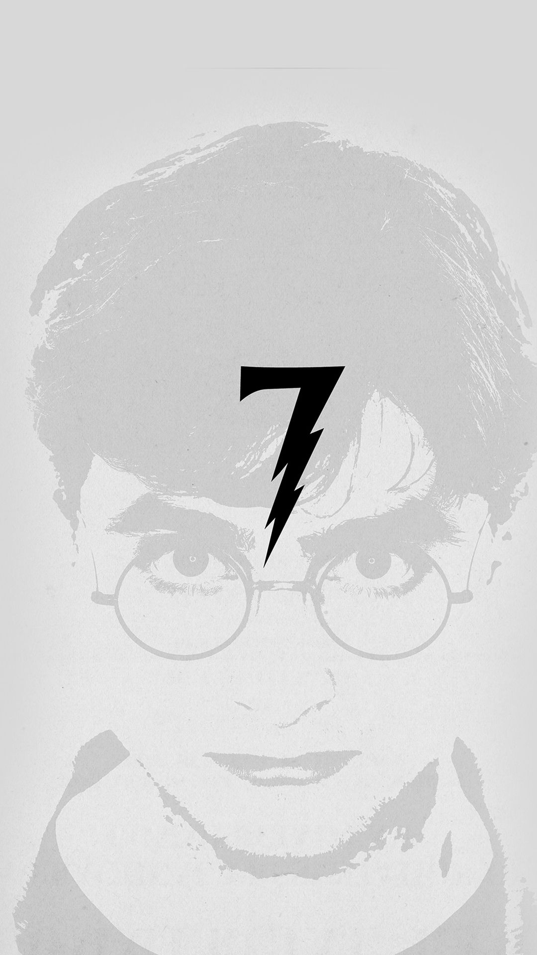 Harry Potter Art Minimal Film Gray Iphone 8 Wallpapers Harry Potter Wallpaper Filmes