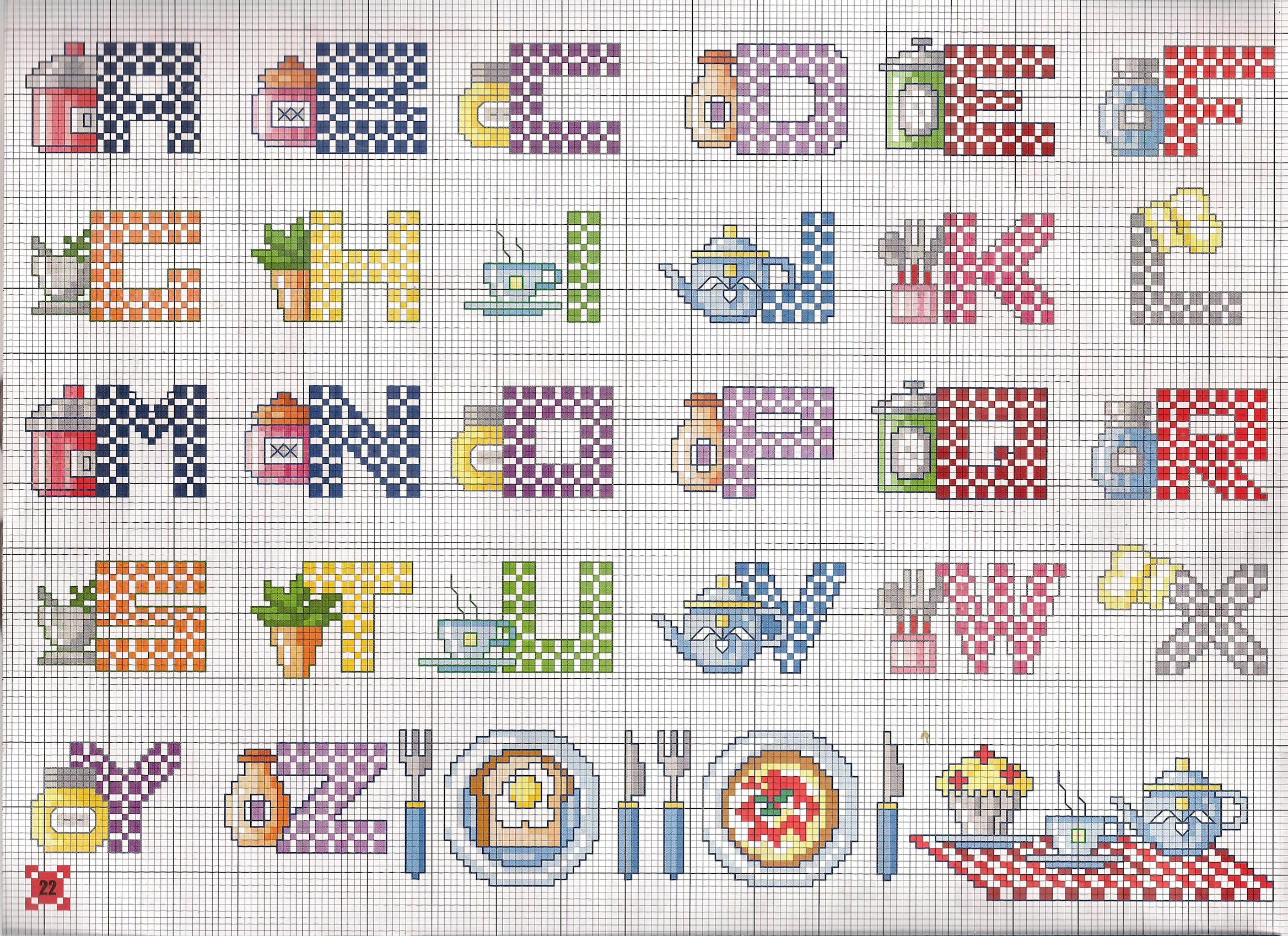 Alfabeto simples cozinha alfabeti pinterest alfabeto - Schemi animali stampabili ...