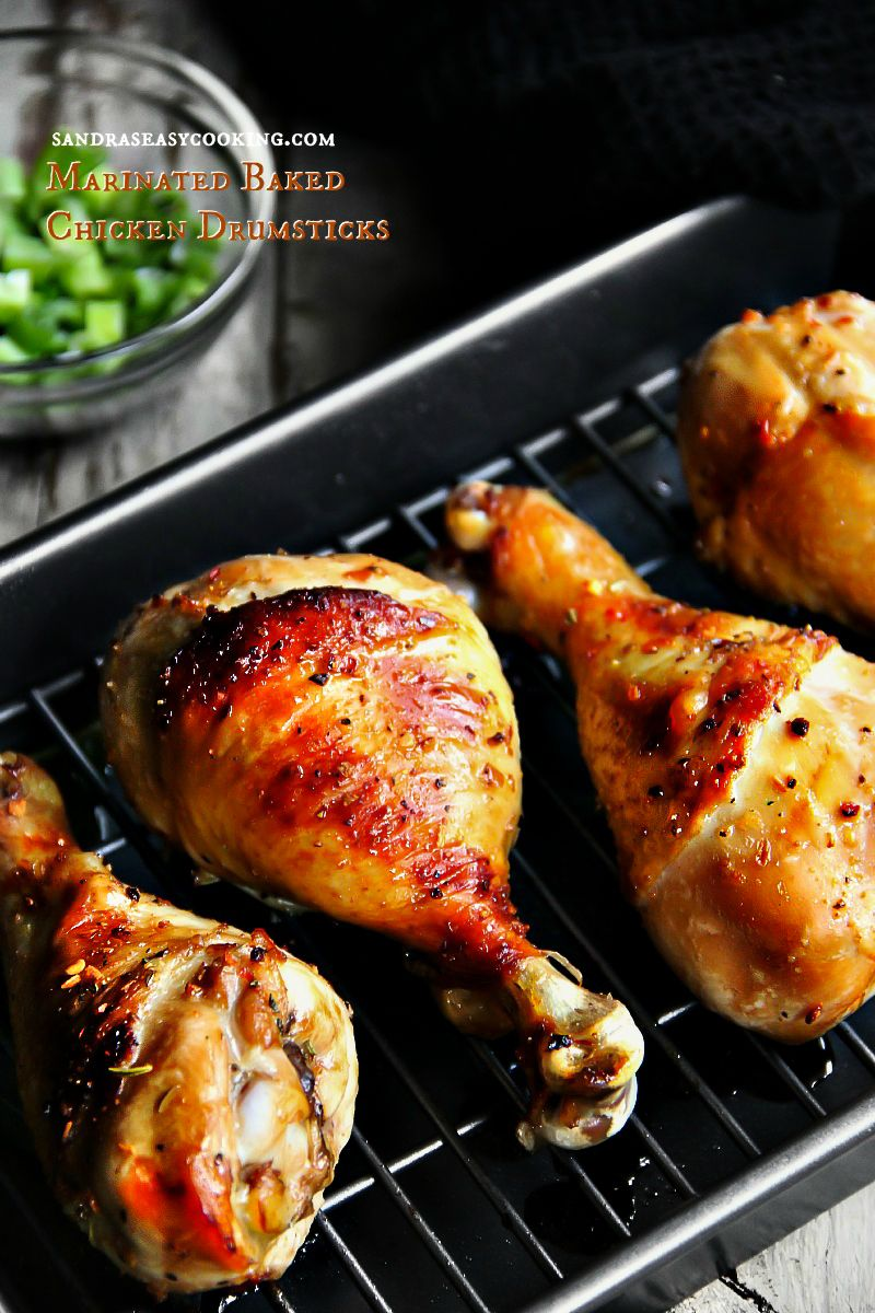 Marinated Baked Chicken Drumsticks Recipe The Girl Who Ate