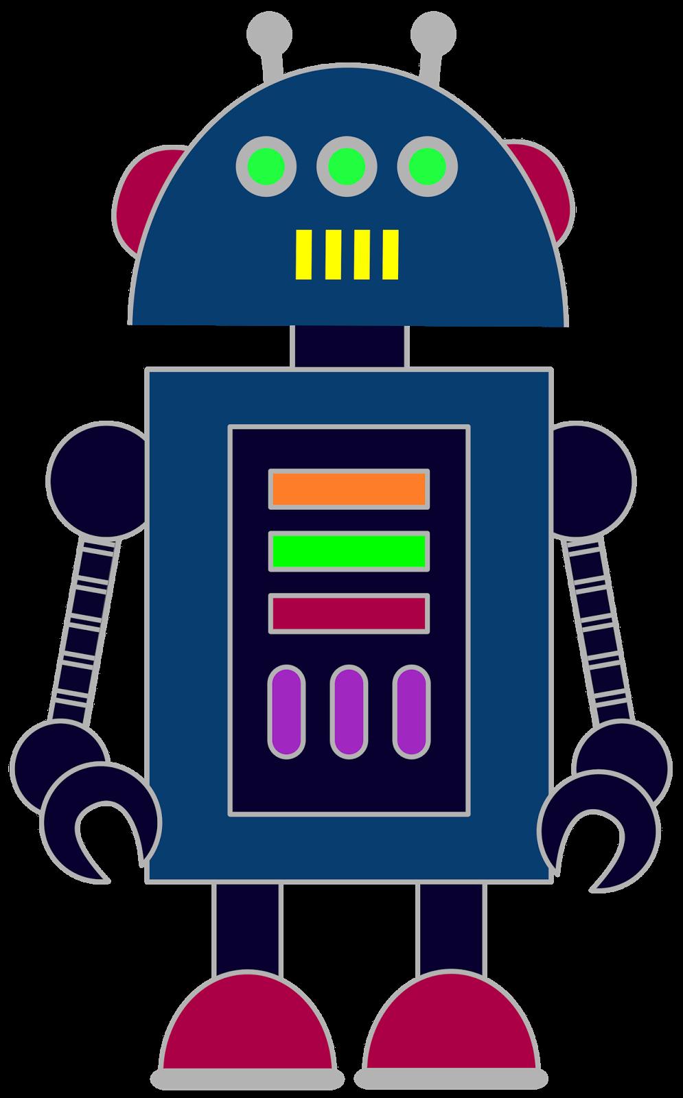 free robot clip art for classrooms teachers and parents  [ 995 x 1600 Pixel ]