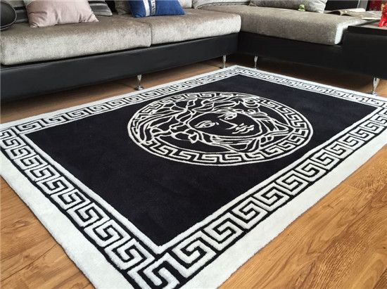 V Collection Area Rug Versace Pinterest Bedrooms