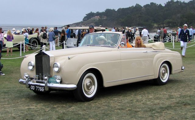 1959 Rolls Royce Silver Cloud Mulliner Drophead Coupe