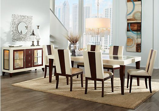 Shop For A Sofia Vergara Savona 5 Pc Dining Room At Rooms To Go Find Dining Room Sets That Will Dining Room Sets Farmhouse Dining Room Beautiful Dining Rooms