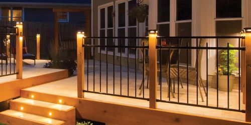 Best Metal Railing Gates Deck Railings Black Deck Deck 400 x 300