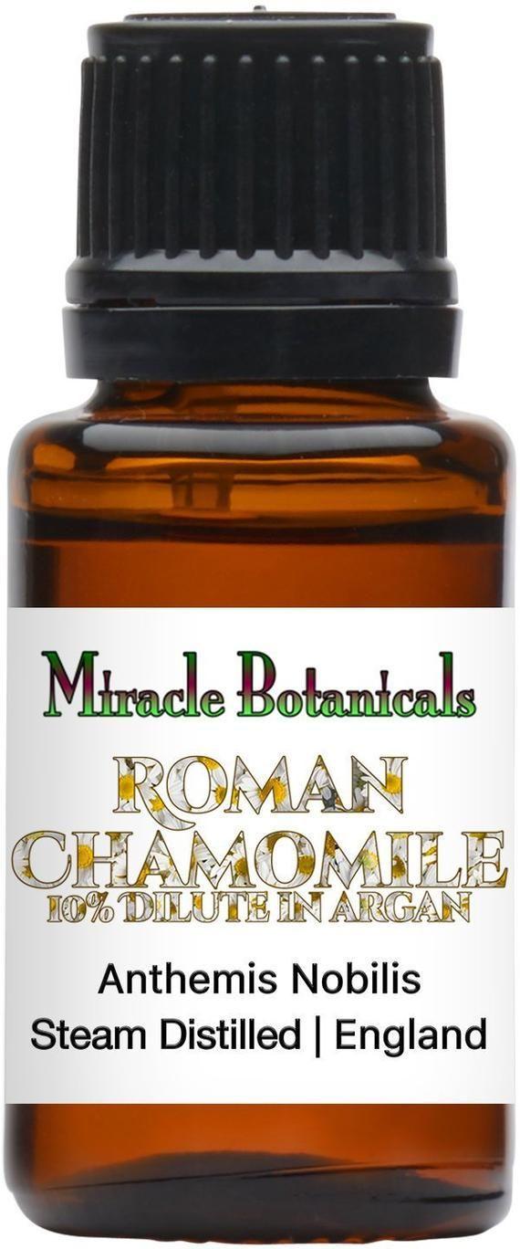 Miracle Botanicals Roman Chamomile Essential Oil  10 Pure Anthemis Nobilis in Organic Virgi Miracle Botanicals Roman Chamomile Essential Oil  10 Pure Anthemis Nobilis in...