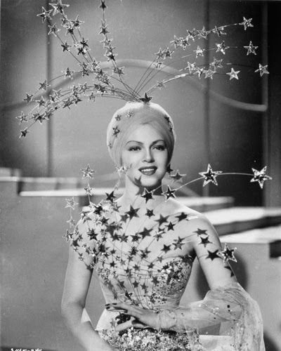 "Vintage Glamour Girls: Lana Turner in "" Ziegfeld Girl """