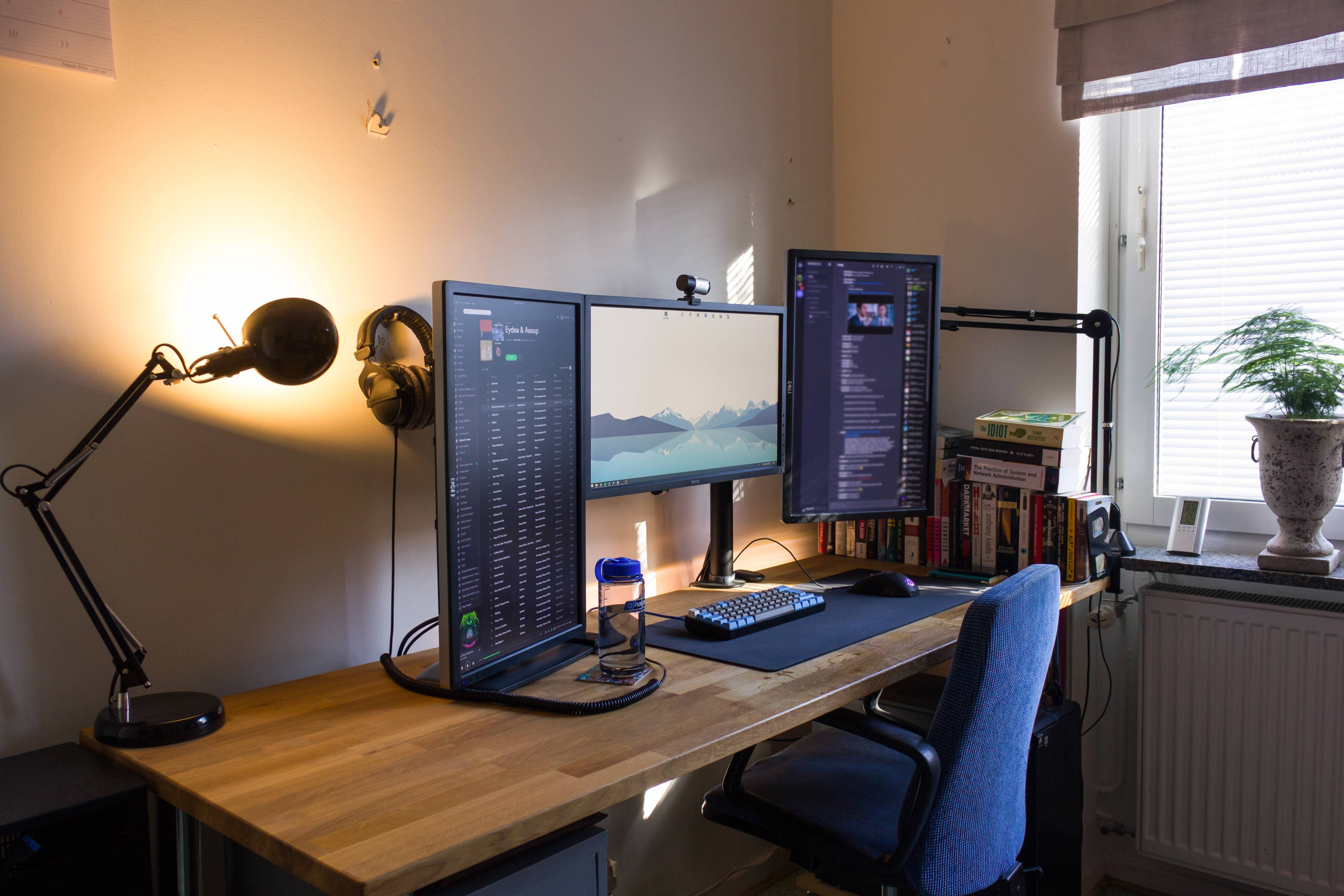 Bilder på ditt (fysiska) skrivbord! Tangentbord, möss och