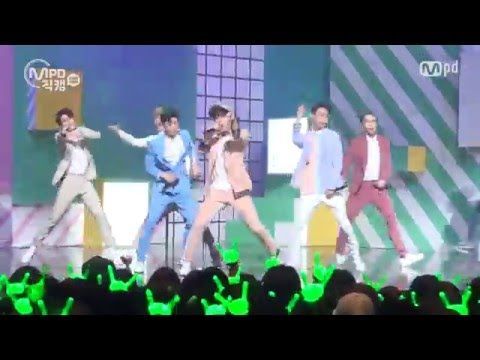 [MPD직캠] B.A.P 직캠 Feel So Good Fancam @엠카운트다운_160225 - YouTube