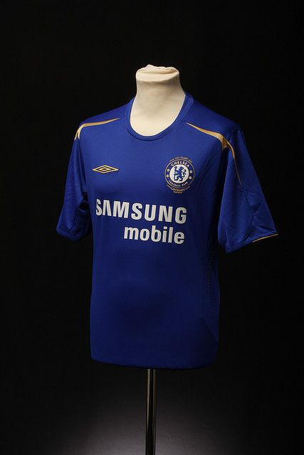 Chelsea Football Shirt (Home, 2005-2006) (With images) | Chelsea ...