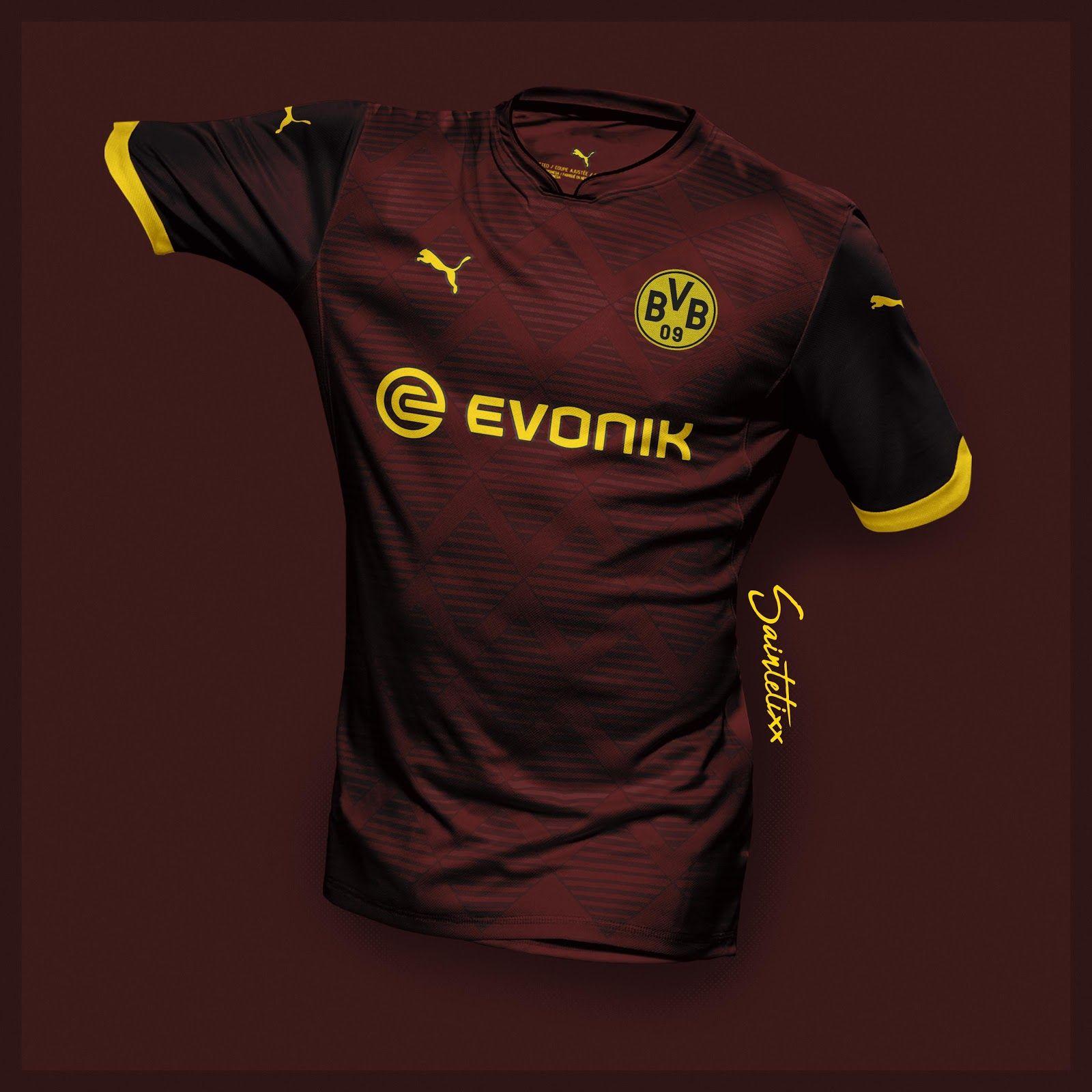 Incredible Puma Borussia Dortmund 19 20 Home Away Third Concept Kits By Saintetixx Footy Headlines In 2020 Sport Shirt Design Sports Jersey Design Jersey Design