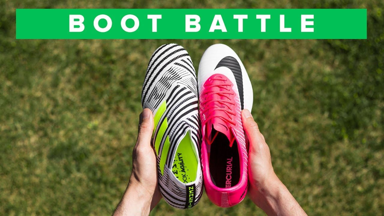 nike volubile vapore 11 vs adidas nemeziz 17 + pinterest football