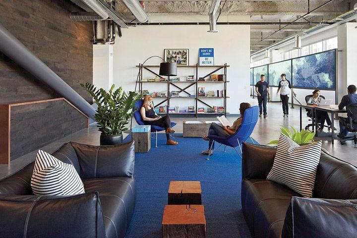 Dropbox new office by Geremia, San Francisco – California | Office ...