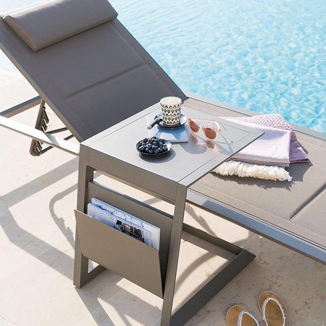 Hesp ride mobilier de jardin design table salon de - Mobilier jardin hesperide ...
