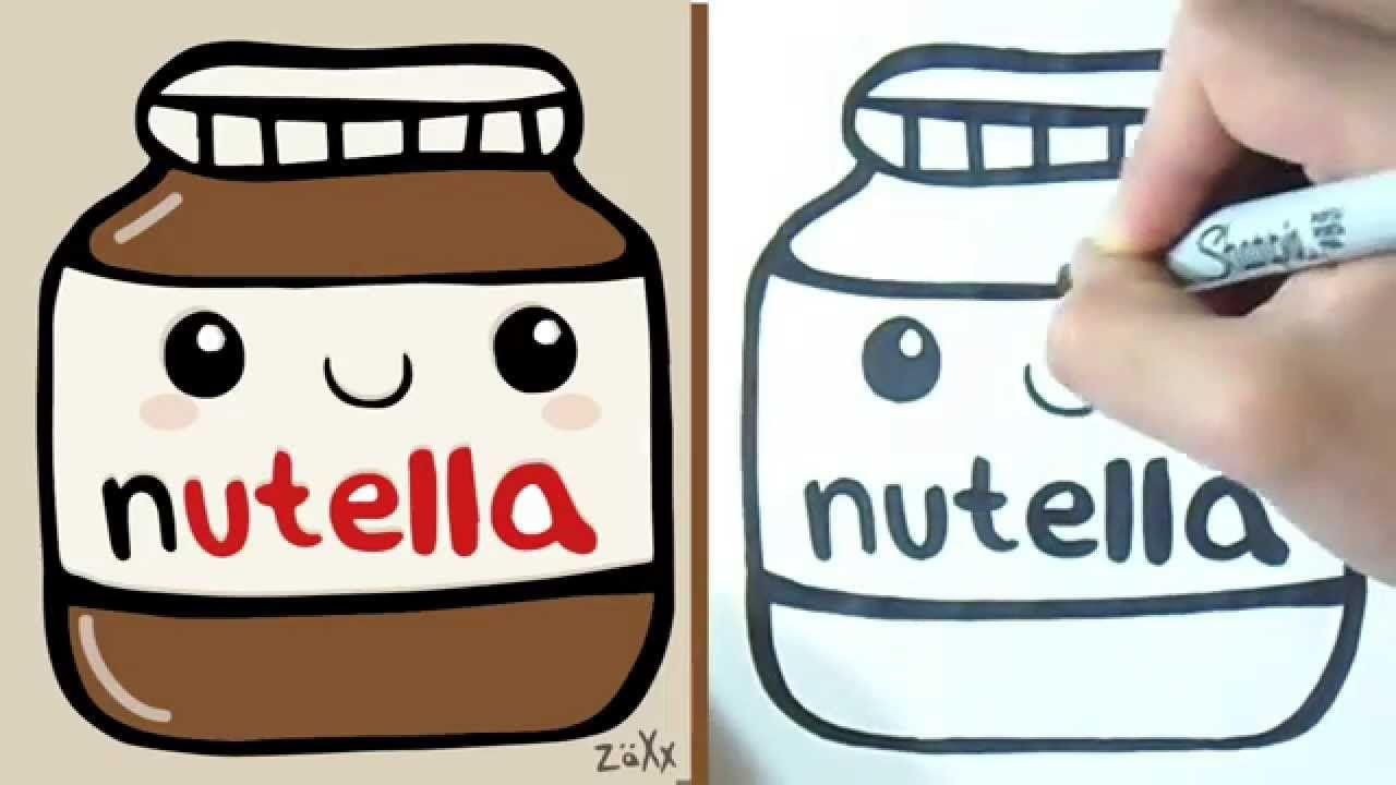 Nutella Kawaii Nutella Kawaii Bff Drawings