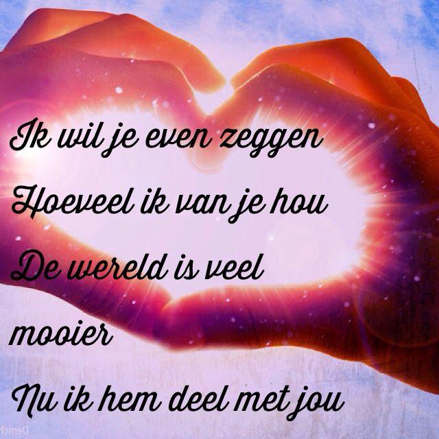 Wonderlijk Ik hou van jou (met afbeeldingen)   Ware liefde gedichten XJ-48