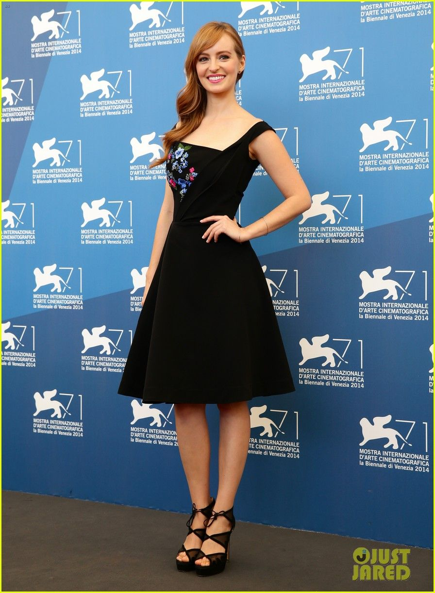 Ahna OReilly in a Preen dress Bionda Castana heels and Willow Roe