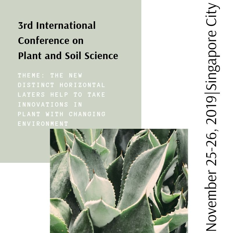 Join us soil science 2019 agricultural science soil
