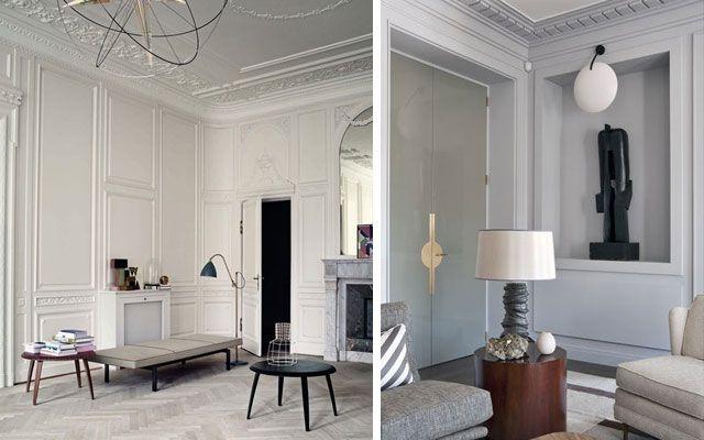 Rosetones y molduras de techo cl sicas para casas modernas for Decoracion de casas clasicas