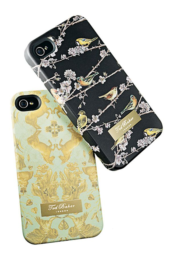 Tweet Chic: Ted Baker London iPhone Case- I'm pretty attached to my Otter Box out of necessity, but these are beautiful!