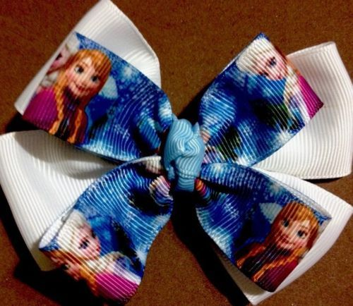 Baby Magic Hairbows Non Slip Clips *NEW* Princesses All Together 2 Inches