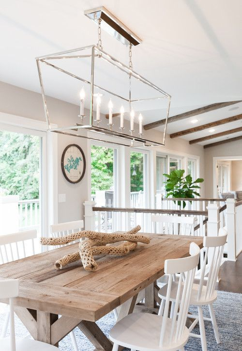 20 Bright and Beachy Dining Room Designs ,  #beachy #bright #Designs #dining #farmhousedining... #farmhousediningroom