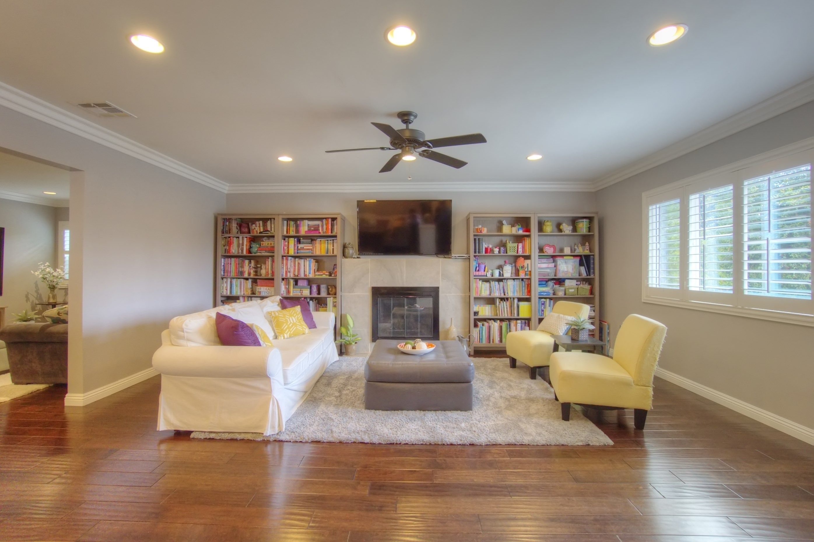 Awesome Single Family Home Located On A Private Street In The