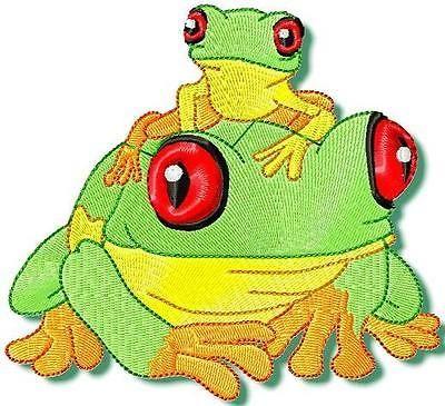 Tree-Frog-10-disenos-de-bordado-de-la-maquina-CD-2-Tamanos-2-estilos-de-costura