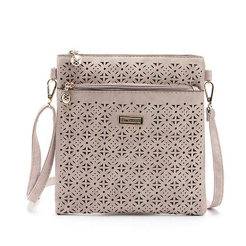 371806404d44 Small Casual women messenger bags PU hollow out crossbody bags ladies  shoulder purse and handbags bolsas