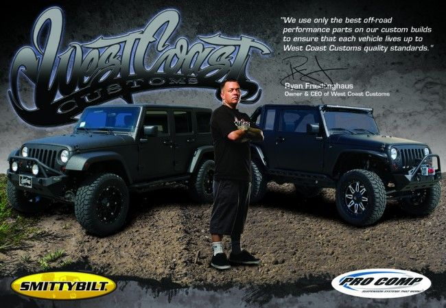 West Coast Customs, ProComp, Smittybilt