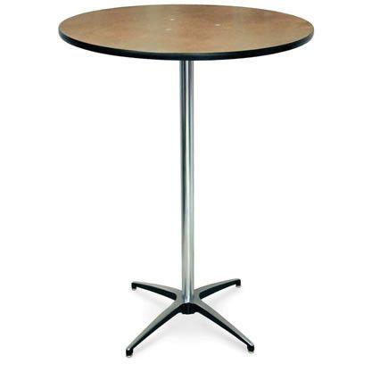 Wooden Highboy Cocktail Table Rental Gathering Table Cocktail Tables Table