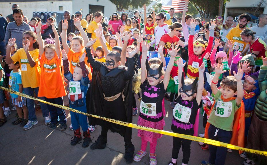 Pizarro Save That Costume For The Heroes Run Hero Run Walk Fundraiser Fun Run