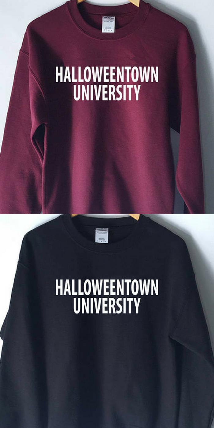 HalloweenTown Movie Sweatshirt, clothing, halloweentown