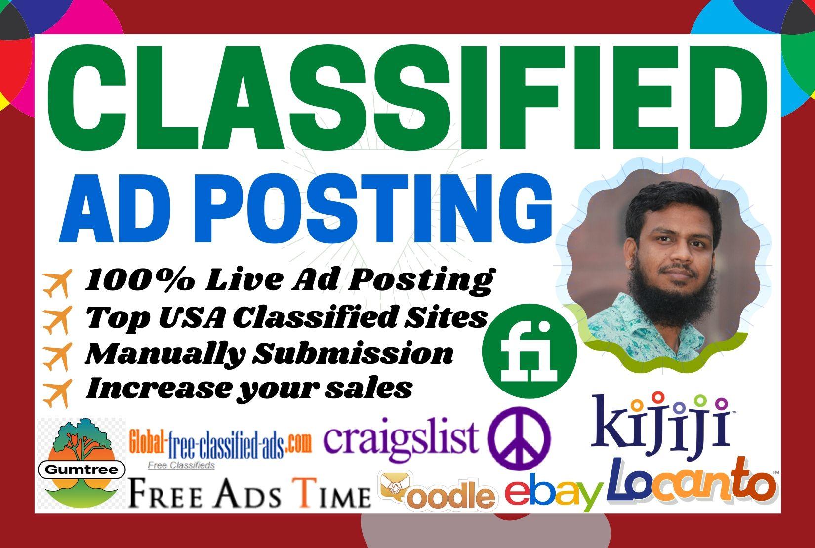 shafiqulislam72 I will do manually classified ad posting
