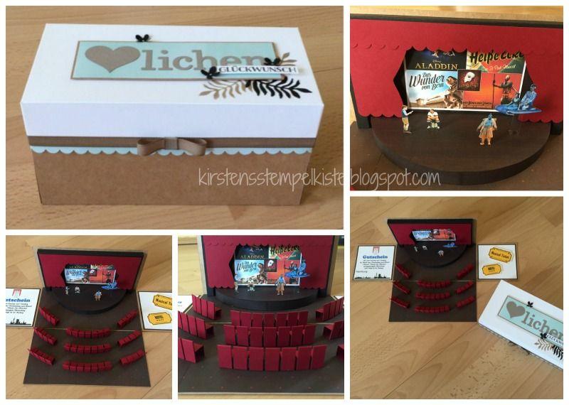 explosionsbox gutschein f r ein musical meine eigenen werke pinterest explosionsbox. Black Bedroom Furniture Sets. Home Design Ideas