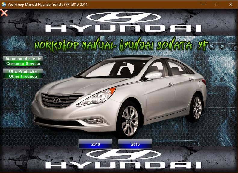 Pin En Manuales De Taller Hyundai Workshop Manuals Hyundai