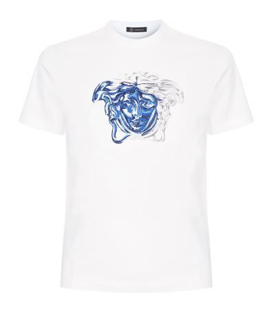 medusa head t shirt versace