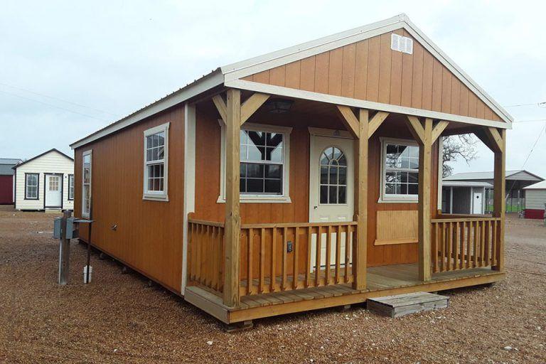 Custom Cabins Enterprise Supercenter In 2020 Portable Buildings Cabin Cabin Style