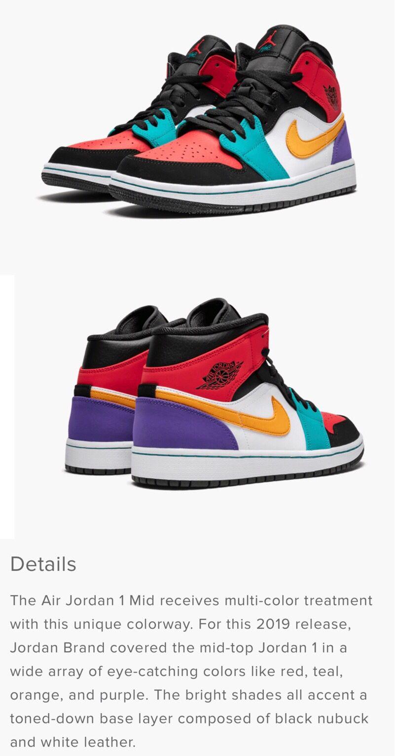 Air jordans, Jordan 1 mid, Nike air jordans