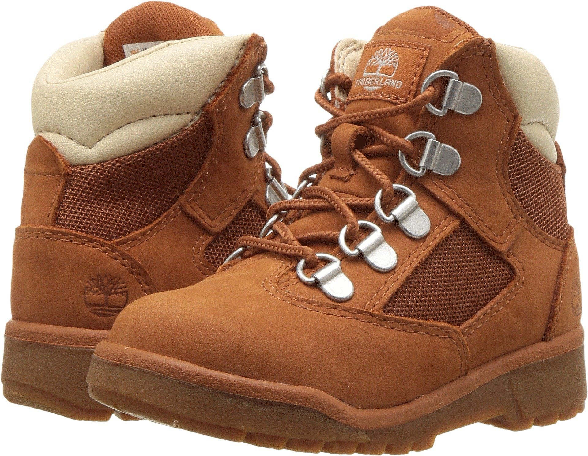 520920255541 Timberland Kids Unisex 6 Field Boot Toddler Little Kid Burnt Sienna 8  Toddler M    Continue to the product at the image link. (This is an  affiliate link)   ...
