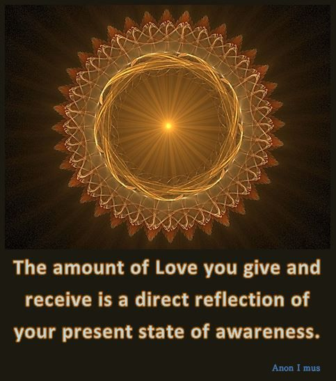 The Amount Of Love You Give And Receive Is A Direct
