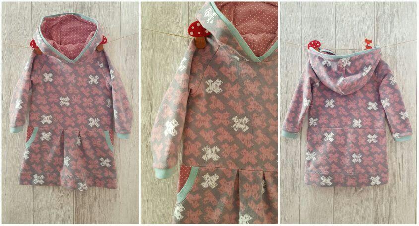Cozy-Dress#Cozydress#kid5#Kleid#Sweatkleid#selfmade#handmade ...