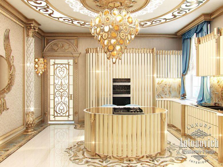 Kitchen Design in Dubai, Kitchen Interior, Villa in the UAE