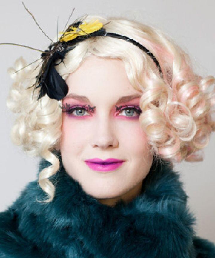Effie Trinket from hunger games inspired makeup   Artistry