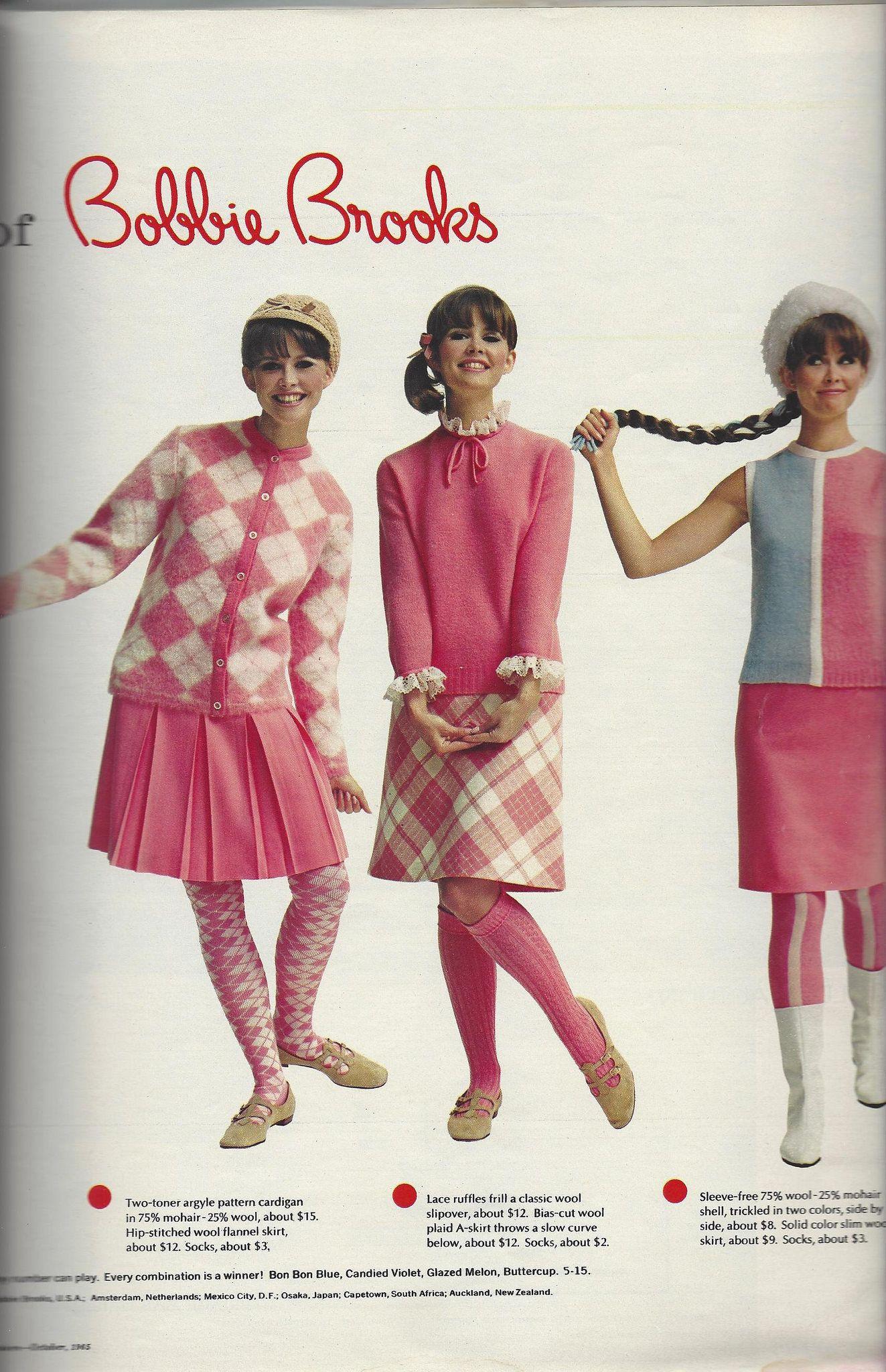 1965 10 Seventeen Bobbie Brooks Susan Van Wyck 2